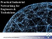 Practical Industrial Networking for Engineers & Technicians