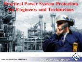 Practical Power System Protection for Engineers and Technicians