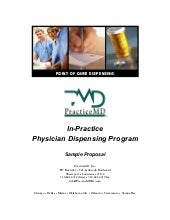 Practice md marketing booklet