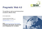 PragmaticWeb 4.0 - Towards an activ...