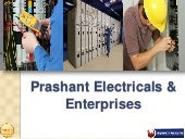 Electrical Contractors & Products Supplies In Pune - Prashant Electricals & Enterprises