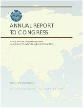 ANNUAL REPORT TO CONGRESS Military ...
