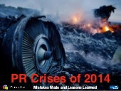 PR Crises of 2014: Mistakes Made and Lessons Learned