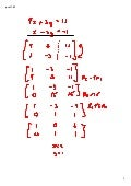 preCalculus 11-03 Augmented Matrix Solutions