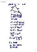 preCalculus 803 Law of Cosines HWK!