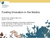 Funding Innovation in the Nordics -...