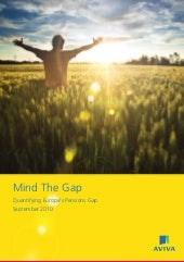 Aviva Mind The Gap survey regional ...