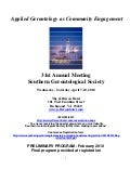 Southern Gerontological Society Annual Meeting
