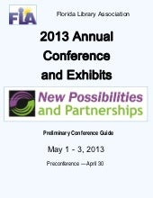 2013 Annual Conference and Exhibits...