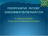 Preoperative Surgical Preparation