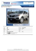 Pre-Owned 2013 Kia Sorento LX Boulder CO
