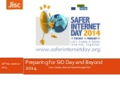 Preparing for internet safety day and beyond