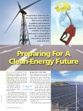 Preparing For A Clean Energy Future
