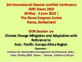 Climate Change Mitigation and Adapt...