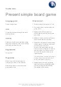 Present simple-board-game