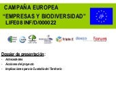 Bussiness and Biodiversity. Fundaci...