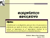 Diagnóstico educativo