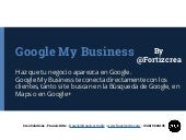 Presentación google business views ...