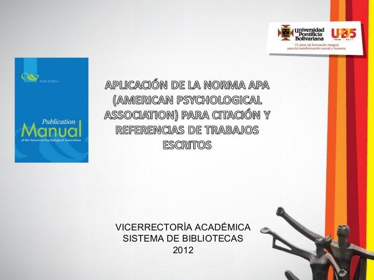 descargar normas apa 2012 pdf