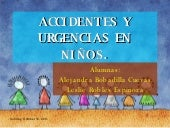 Accidentes y trauma en niños