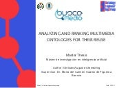 Analyzing and Ranking Multimedia On...