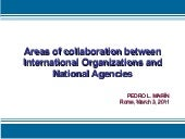 Areas of collaboration between Inte...