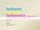 Analisis Industri Kreatif Indonesia...
