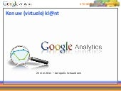 Opleiding google analytics 23 05-20...