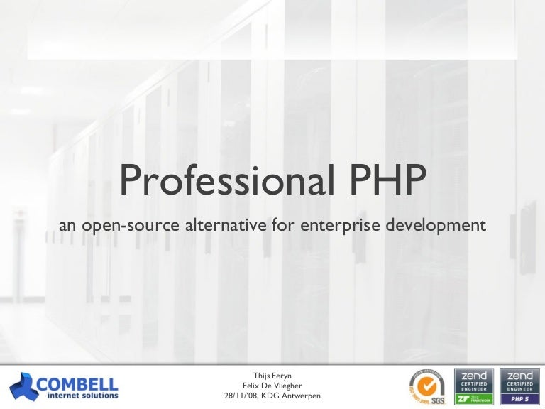 Professional PHP