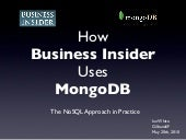 How Business Insider Uses MongoDB