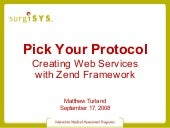 Creating Web Services with Zend Fra...