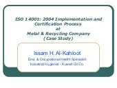 MRC ISO 14001 Implementation