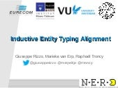 Inductive Entity Typing Alignment