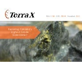 TerraX Minerals, Inc. video