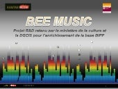 Presentation Bee Music / Kantar Méd...