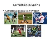 Corruption in sports