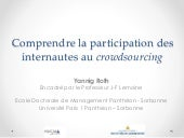 Comprendre la participation des internautes au crowdsourcing #Digisearch #ESSCA