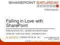Falling in love with SharePoint (SP Saturday Indy)