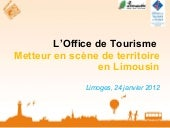 "Presentation Office de Tourisme ""me..."