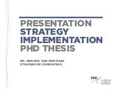 Presentation | PhD Thesis Strategy ...