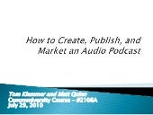 How to Create, Publish, and Market ...