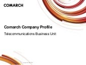 Comarch Telecoms Business Unit - Ov...
