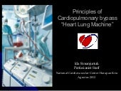 principles of cardiopulmonary bypass