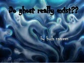 Presentation1ghost facts