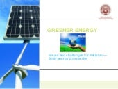 Solar Energy Systems Perspective ab...