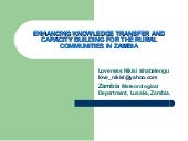 Enhancing Knowledge Transfer and Ca...