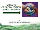 Effects of Globalization to E-Commerce