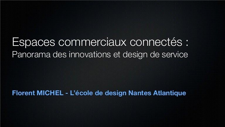 Espaces commerciaux connectés : Panorama des innovations et design de service