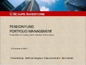 Portfolio Management (Final Yr Pres...