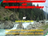 Millennium ecosystem services and m...